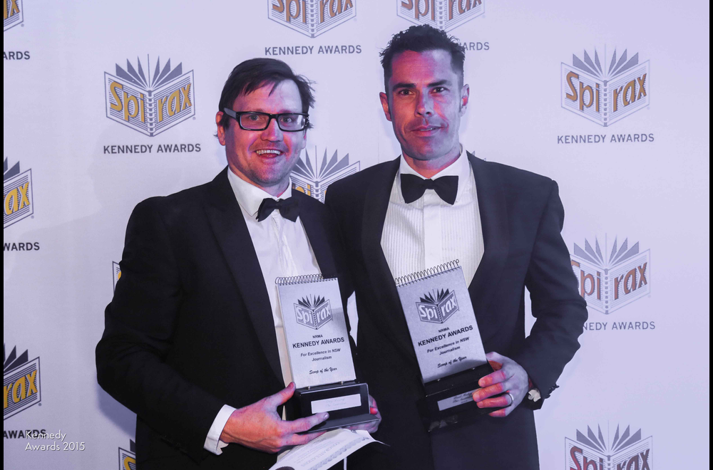 2015 Scoop of the Year - Greg Bearup and Paul Maley of The Australian