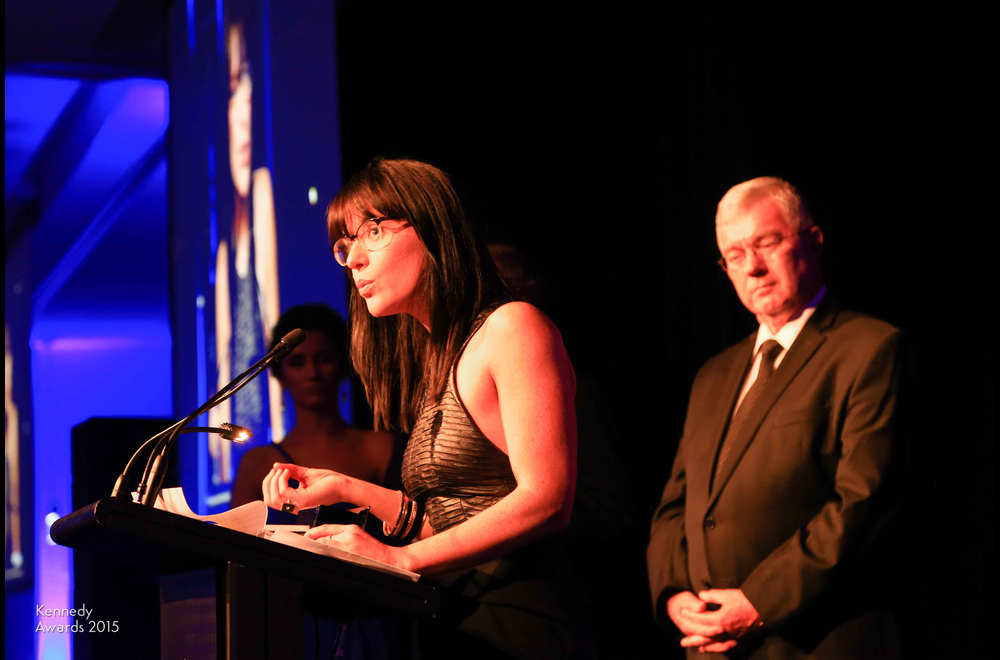 2015 P&O Crusises NSW Journalist of the Year Caro Meldrum-Hanna of ABCTV's Four Corners