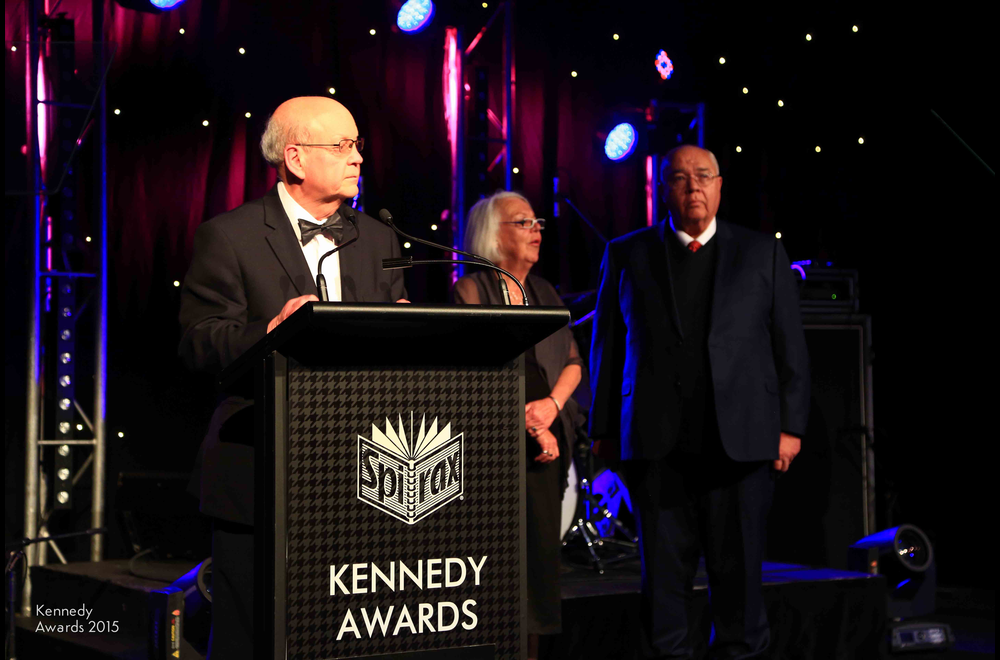 Senior Kennedy Awards judge Tom Krause