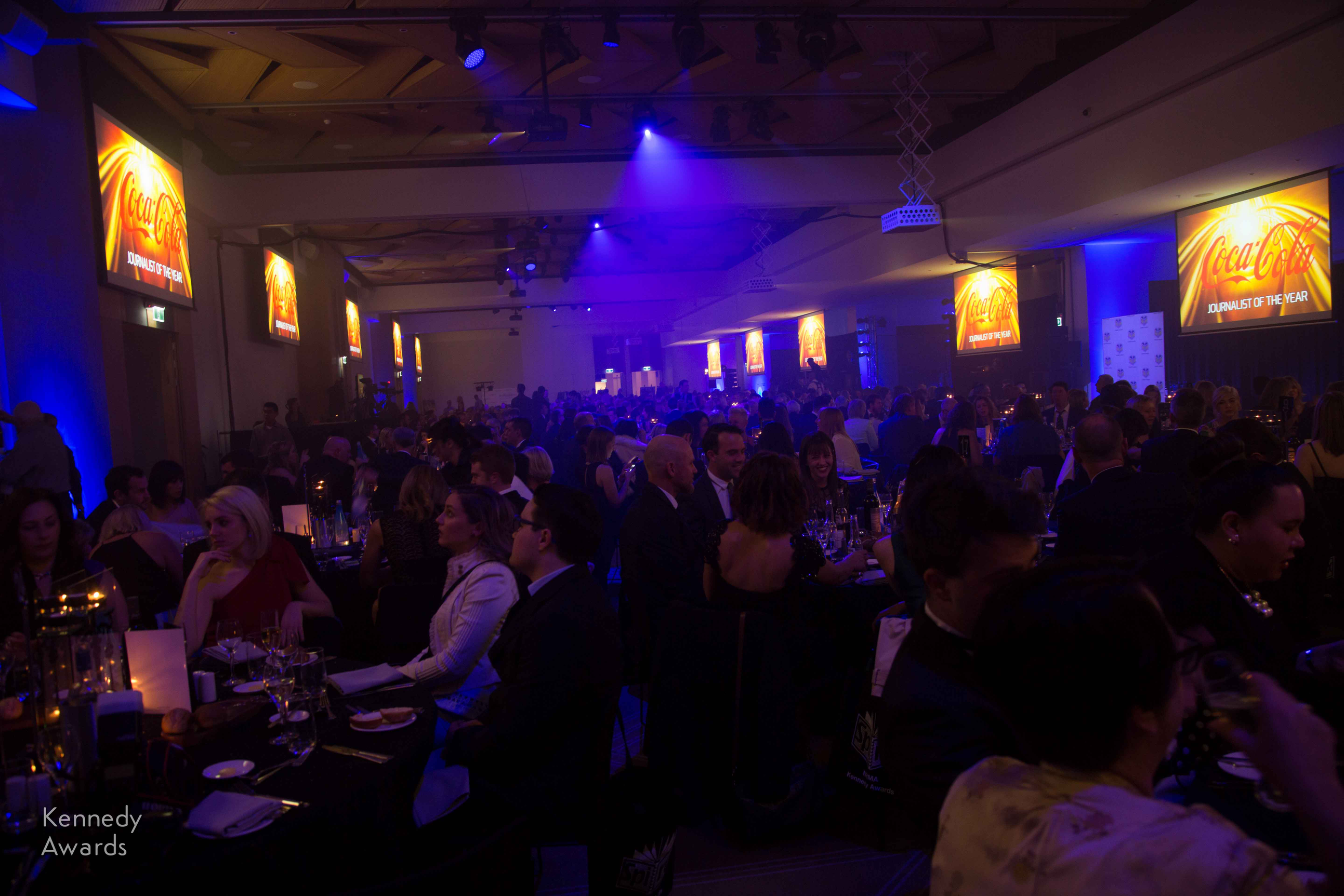 More than 600 guests pack the Grand Ballroom of Royal Randwick