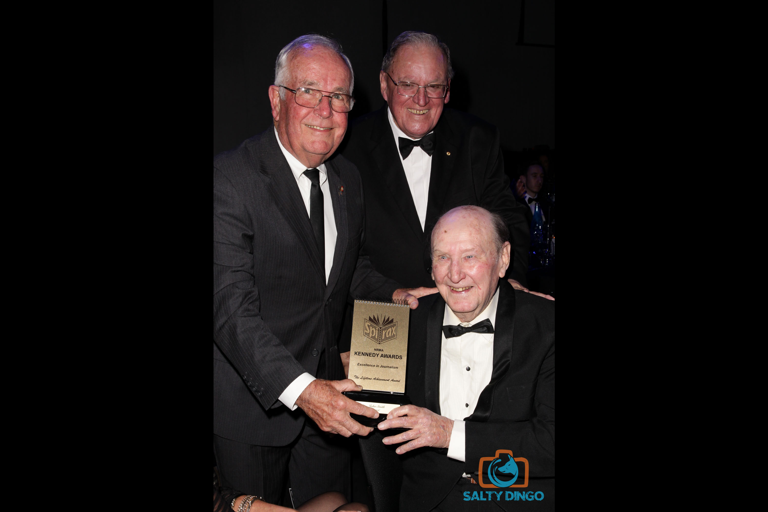Barry Norman, John Smith and Peter Newell of Clubs NSW