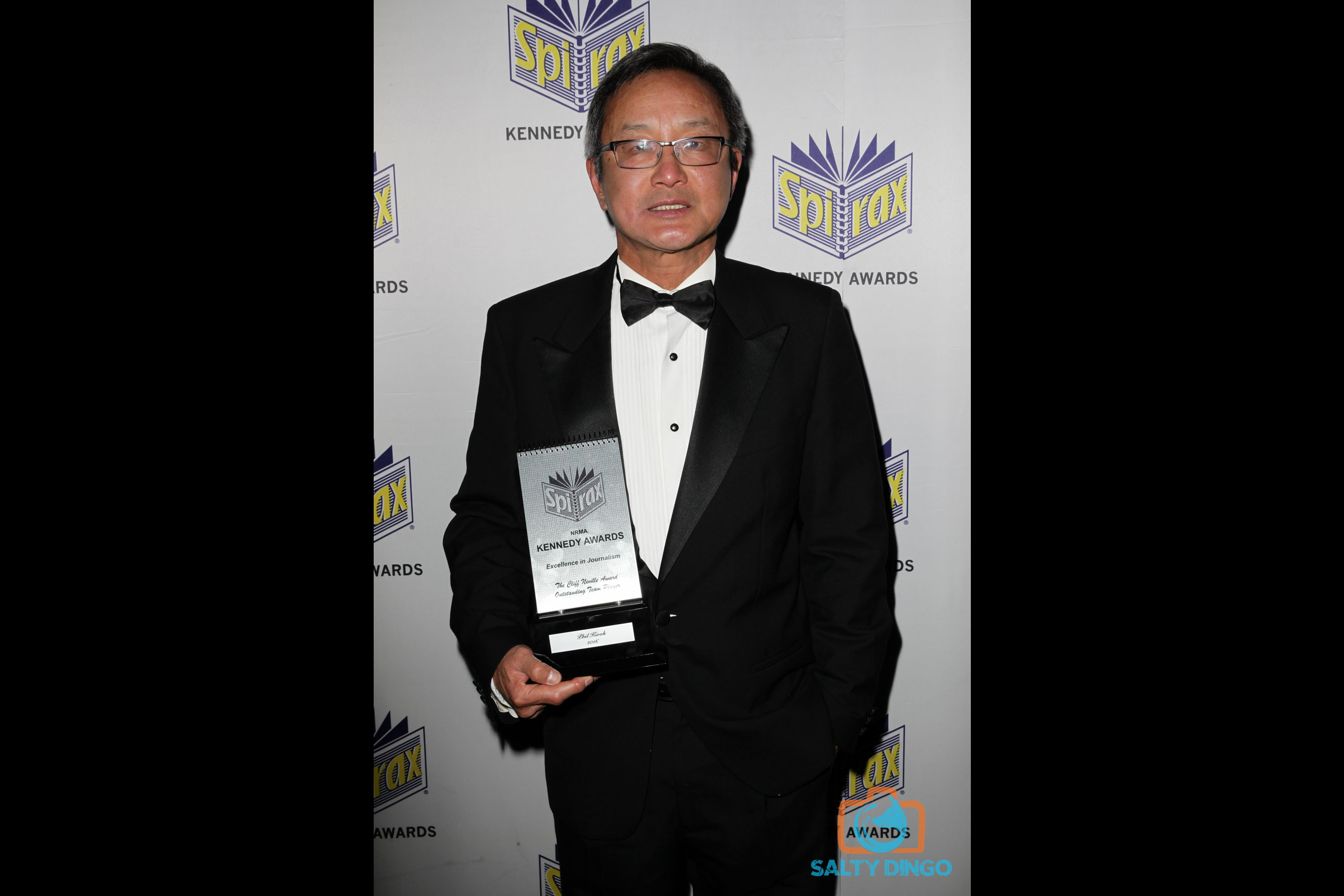 Cliff Neville Award for Outstanding Team Player winner Phil Kwok